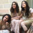 Felícia (Amanda de Godoi), Natália (Giulia Gayoso) e Helena (Jessika Alves) conhecem Maria Vitória (Vitória Strada) no navio em que embarcam rumo ao Rio de Janeiro