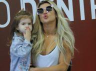 Mirella Santos passeia com filha, Valentina, de 3 anos, que manda beijos. Fotos!