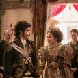 Leopoldina (Leticia Colin) e Pedro (Caio Castro) são coroados Imperadores do Brasil, no final da novela 'Novo Mundo'