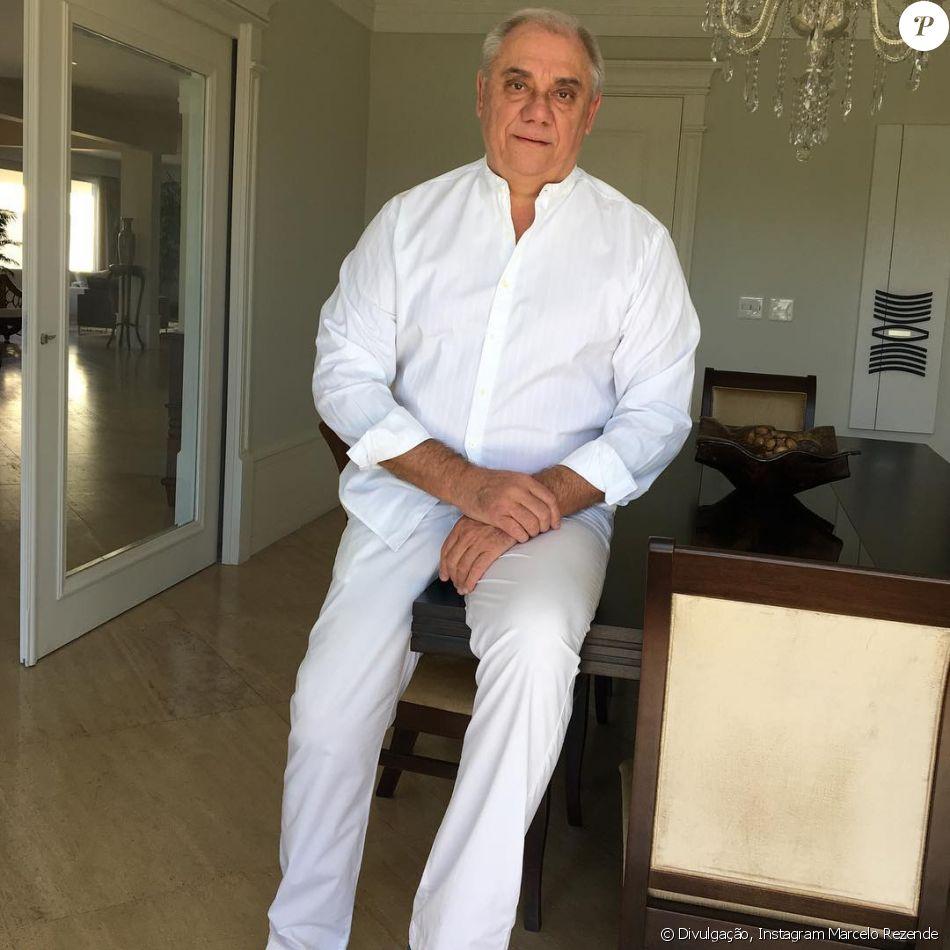 Marcelo Rezende gravou um vídeo neste domingo, 3 de setembro de 2017 para falar sobre como está enfrentando o câncer