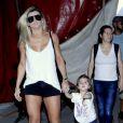Valentina e Mirella Santos gravaram um vídeo para o pai, Ceará