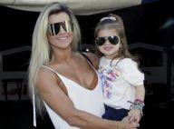 Valentina vai ao circo com Mirella Santos e rouba a cena de óculos escuros
