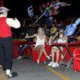 Valentina e Mirella Santos se divertiram no circo