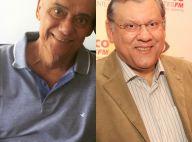 Com câncer, Marcelo Rezende ganha conselho de Milton Neves: 'Volte pro hospital'