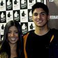 Tayna Hanada e Gabriel Medina ficaram juntos por um ano e meio, mas o surfista confirmou a separação da modelo no começo deste ano