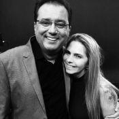 Namorada de Marcelo Rezende nega afastamento de Geraldo Luís com foto: 'Juntos'