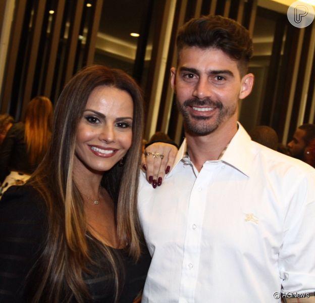 Ex-noivo de Viviane Araujo, Radamés terminou com atriz por telefone, diz  jornal - Purepeople