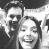 Giovanna Lancellotti se diverte com namorado em show do O Rappa: 'Valeu a pena'