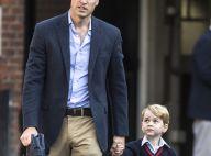 Príncipe William leva George à escola para primeiro dia de aula. Veja fotos!