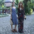 As gêmeas Giselle e Michelle Batista também foram convidadas para o casamento