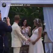 Maíra Charken, grávida de Gael, se casa com Renato Antunes:'Homem da minha vida'