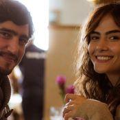 Renato Góes e Maria Casadevall foram juntos a show dos Novos Baianos