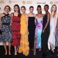 Diversas modelos marcaram presença no evento de gala beneficente promovido pela Fundação Alcides e Rosaura Diniz (ARD), em Nova York, nos Estados Unidos, nesta quinta-feira, 7 de setembro de 2017
