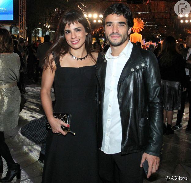 Maria Ribeiro chama Caio Blat de 'amigo amado' no Instagram e fãs apontam nova separação, em 10 de setembro de 2017