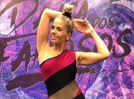 Adriane Galisteu cai ao dançar funk no 'Dança dos Famosos' e web brinca: 'Mico'