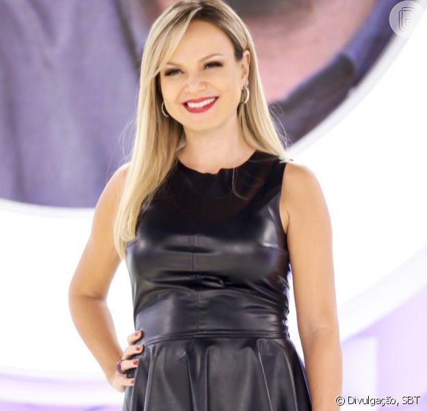 Eliana deu à luz sua segunda filha, Manuela, em São Paulo, no domingo, 10 de setembro de 2017