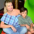 Eliana já é mãe de Arthur, de 6 anos, fruto do casamento com João Marcello Bôscoli