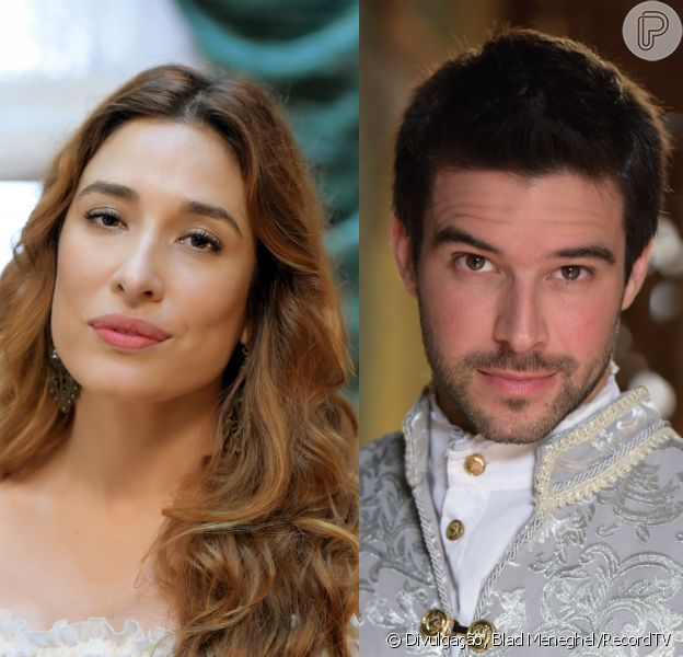 Selena (Giselle Itié) rouba beijo de Enrico (Bernardo Velasco), no capítulo de quinta-feira, 21 de setembro de 2017, da novela 'Belaventura'