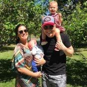 Thais Fersoza descarta terceiro filho com Michel Teló: 'Família está completa'