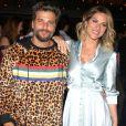 Casaco de oncinha de Bruno Gagliasso é da marca À La Garçonne