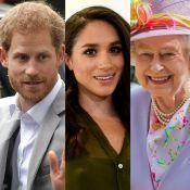 Príncipe Harry apresentou a namorada, Meghan Markle, à avó, rainha Elizabeth II