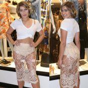 Isabella Santoni ousa com hot pants e transparência em evento. Veja mais looks!