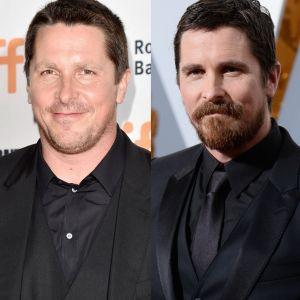 Christian Bale. Foto do site da Pure People que mostra Christian Bale surpreende ao engordar para novo papel: 'Comendo muita torta'
