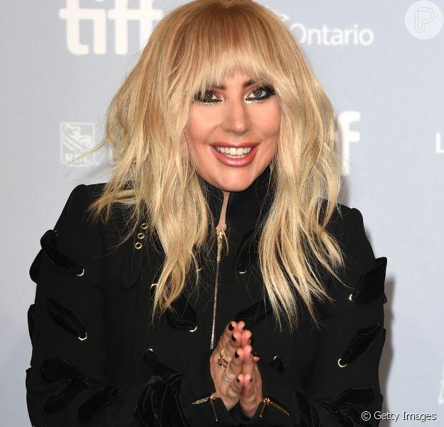 Lady Gaga, fora do Rock in Rio, lamenta internação em postagem na web nesta quinta-feira, dia 14 de setembro de 2017