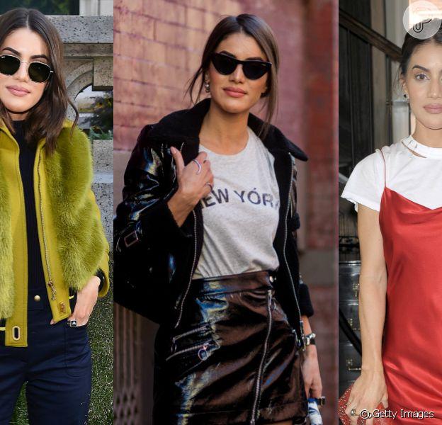 Confira na galeria as produções da it-girl Camila Coelho para a New York Fashion Week!