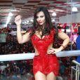 Viviane Araujo negou que o término tenha sido por ciúmes