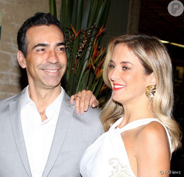 Cesar Tralli pretende não demorar muito para ter filho com Ticiane Pinheiro: 'Não quero ser pai velho'