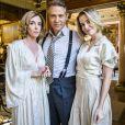 Em 'Tempo de Amar', Celina (Barbara França) é filha de  Bernardo (Nelson Freitas) e Alzira (Deborah Evelyn)
