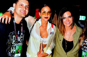 Bruna Marquezine, de top e short, arrasa com estilo sporty chic no Rock in Rio