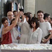 Velório de Marcelo Rezende é marcado por emoção e brinde da família. Fotos!