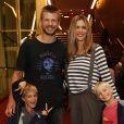 Rodrigo Hilbert e Fernanda Lima são pais dos gêmeos João e Francisco