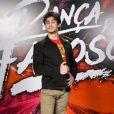 'Se não for pra causar, nem saio de casa', brincou Lucas Veloso após o beijo no 'Dança dos Famosos'
