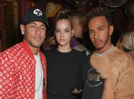 Neymar, Barbara Palvin e Lewis Hamilton vão a festa juntos: 'Amigos loucos'