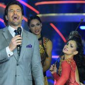 Suzana Alves revive Tiazinha e dá chicotada em Sérgio Marone no 'Dancing Brasil'