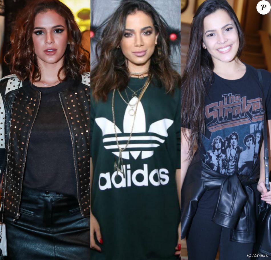 Bruna Marquezine, ex-BBB Emilly, Anitta e mais famosas são indicadas ao Prêmio Jovem Brasileiro 2017
