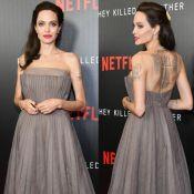 Angelina Jolie, mais magra, se aborrece com perguntas sobre saúde: 'Estou bem'