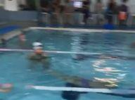 Ticiane Pinheiro filma filha, Rafaella Justus, em aula de natação: 'Peixinho'