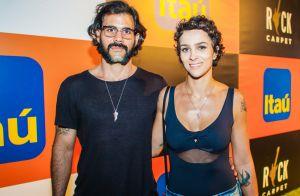 Juliano Cazarré aposta em saia para curtir Rock in Rio: 'Não é para causar'