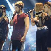 Larissa Manoela curte show de Luan Santana ao lado de Nego do Borel em SP. Fotos