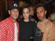 Neymar teve ajuda de Lewis Hamilton para se aproximar de modelo, diz jornal
