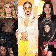 Lua Blanco, Bruna Marquezine e Fabiana Karla ousaram em suas produções para o Rock in Rio 2017. Veja mais famosos que chamaram atenção com seus looks!