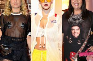 Confira os looks estilosos e inusitados dos famosos no Rock in Rio 2017. Fotos!