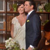 Glenda Kozlowski se casa com dentista Luis Tepedino após 8 anos de união. Fotos!