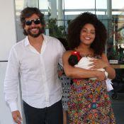 Juliana Alves deixa maternidade dois dias após dar à luz Yolanda, sua 1ª filha
