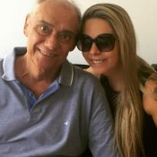 Namorada de Marcelo Rezende rebate internauta e nega testamento: 'Não existe'