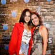 Bruna Marquezine e Carol Sampaio posam juntas no Rock in Rio